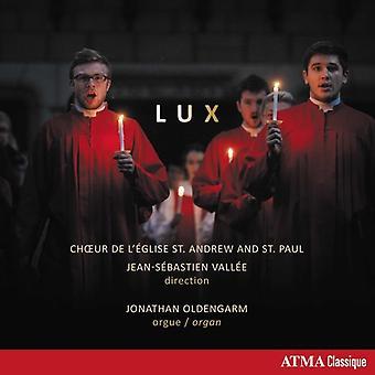 Oldengarm * Jonathan / Choir of st Andrew & st Paul - Lux: musik för Födelsekyrkan [CD] USA import