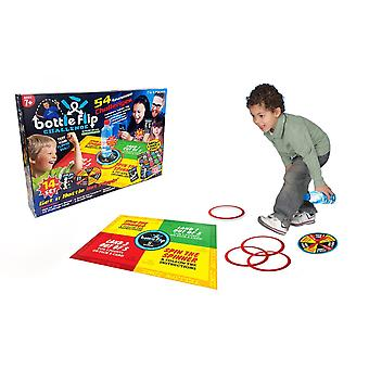 Bottle Flip Challenge Game 14 Piece Family Board Card Game
