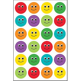 Hygloss Themed Stickers 3/Pkg-Smiley Face TSF199-1874