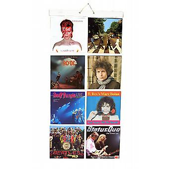 Picture Pockets for 7 inch Singles, Wall Frame for Vinyl Records
