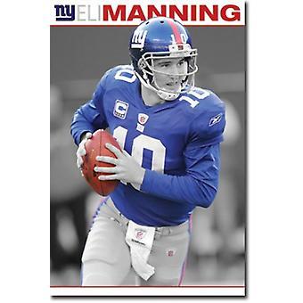New York Giants - Eli Manning 2010 Poster Print