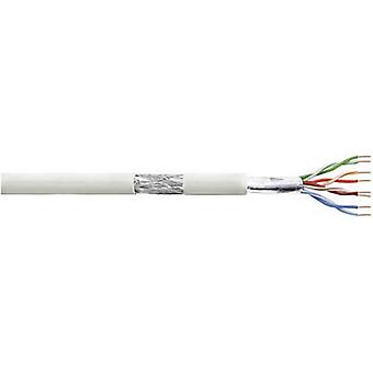 Network cable CAT 5e SF/UTP 4 x 2 x 0.205 mm² Grey