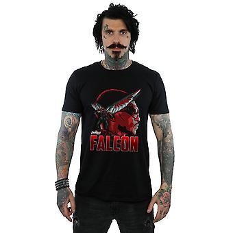 Guerra do Infinity Falcon personagem t-shirt Vingadores masculino