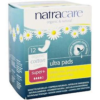 Natracare Organic Cotton Cover Ultra Pads Super+ 12 Units