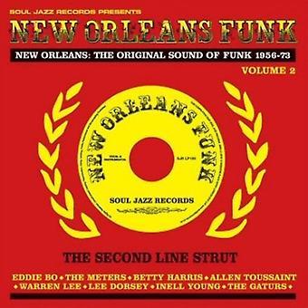 New Orleans Funk - Vol. 2-New Orleans Funk [CD] USA importerer