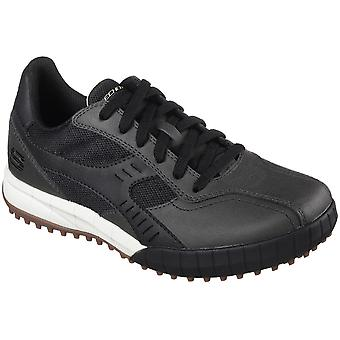 Skechers Mens Floater 2.0 Lace Up Leather Casual Sporty Trainers Shoes