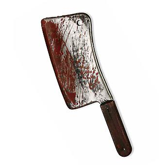 Bloody Cleaver Butcher Horror Killer Texas Chainsaw Mens Costume Weapon