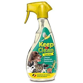Supreme Keep It Clean Disinfectant Dog Cat  Hygiene 500ml Lemon