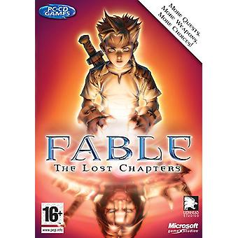 Microsoft Fable förlorad kapitlen (PC)
