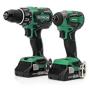 Hitachi KC18DBFL2/JC 18v Brushless Twin Pack with 2x 3ah Batteries