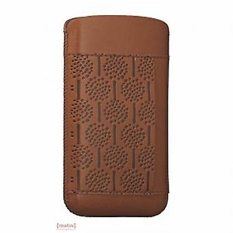 Ozak OC551FO iCoat nature forest leather case iPhone 5 5 S Brown