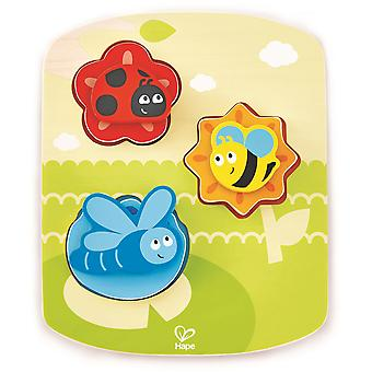 Hape Dynamic Insect puzzel