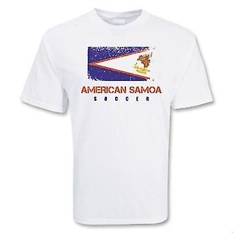 Amerikanische Samoa-Fußball-T-Shirt
