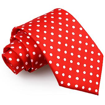 Red Polka Dot Classic Tie