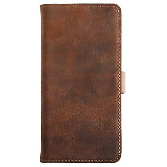Essentials Leather Booklet Case iPhone 6/6S Brown