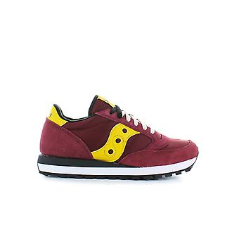 SAUCONY ORIGINALS RED YELLOW JAZZ SNEAKER