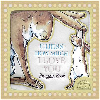 Rainbow Designs Guess How Much I Love You Snuggle Cloth Block