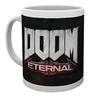 Doom eeuwige Logo mok