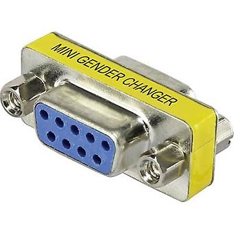 Series Adapter [1x D-SUB socket 9-pin - 1x D-SUB socket 9-pin] 0 m Yellow Renkforce