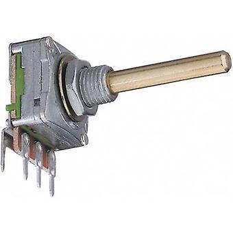 Potentiometer Service 2008 Single turn rotary pot Mono 0.2 W 100 kΩ 1 pc(s)