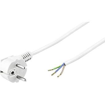 Cable de corriente blanco 3 m