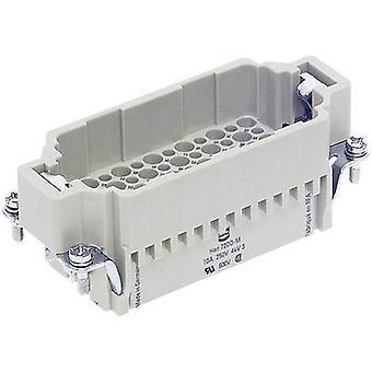 Broche encart Harting Han® DD 09 16 072 3001 72 + PE sertissage 1 PC (s)