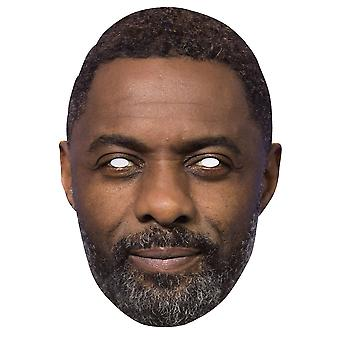 Idris Elba 2D Single Card Party Face Mask