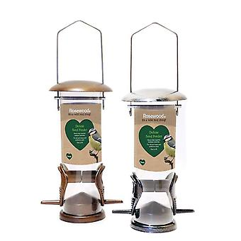 Rosewood Deluxe Seed Feeder