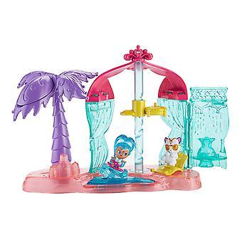 Brilho e brilho Teenie Genies Genie praia Playset
