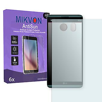 LG Q8 Screen Protector - Mikvon AntiSun (Retail Package with accessories) (reduced foil)