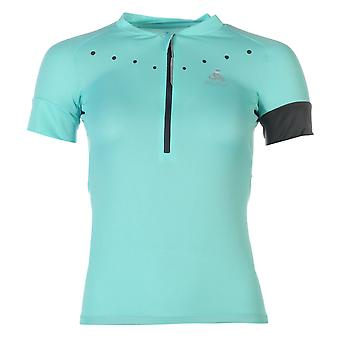Odlo Womens Isola Jersey Short Sleeve High Neck Half Zip Cycling Bicycle Top