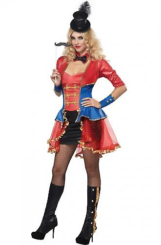 Waooh 69 - Costume Madame Loyal Lolie Rouge