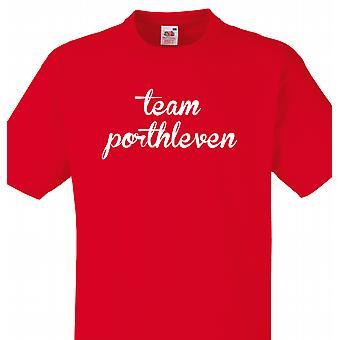 Team Porthleven Red T shirt