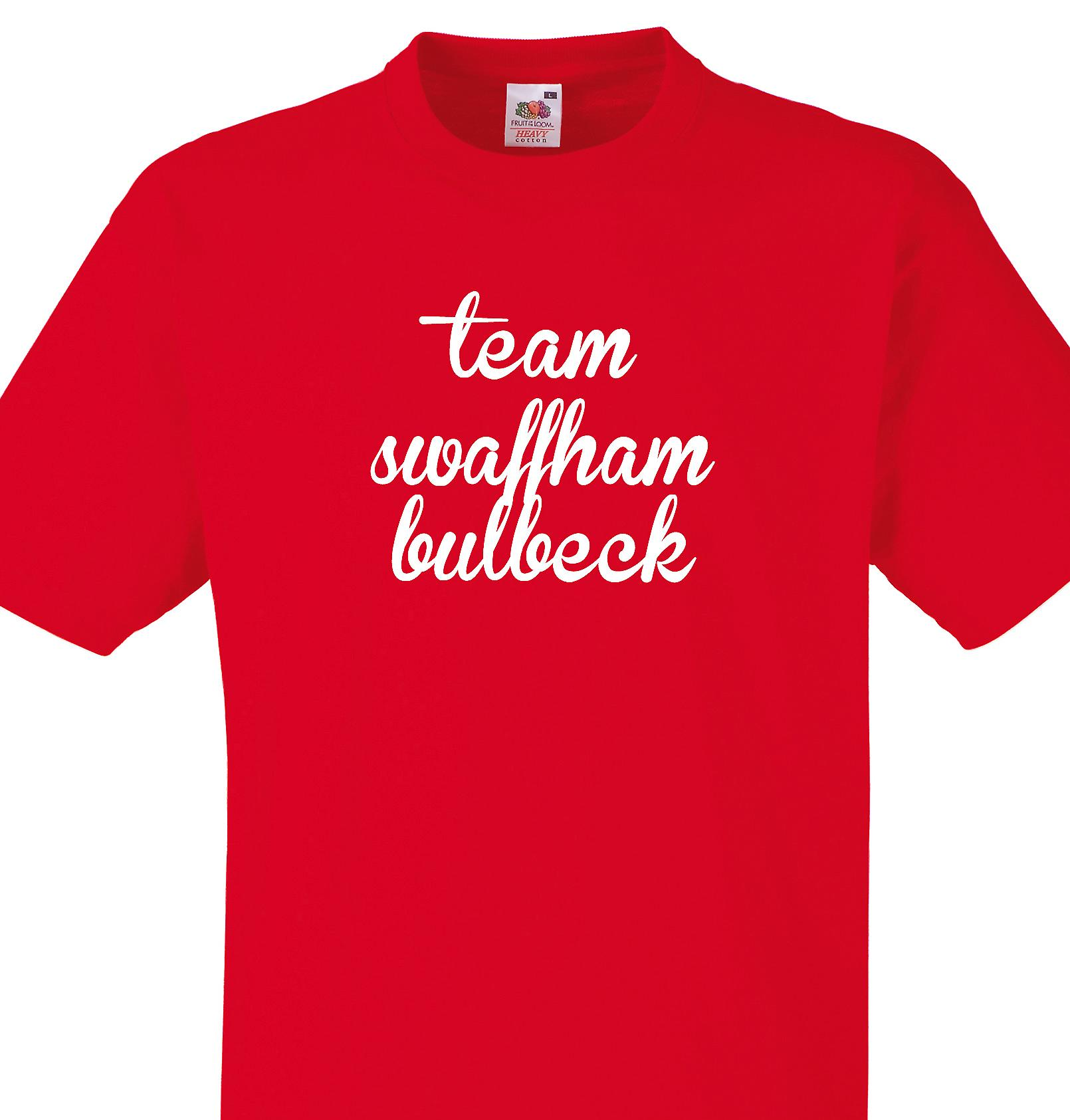 Team Swaffham bulbeck Red T shirt