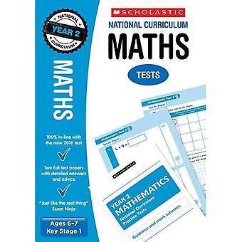 Mathe-Klausur - Jahr 2 (National Curriculum Tests)
