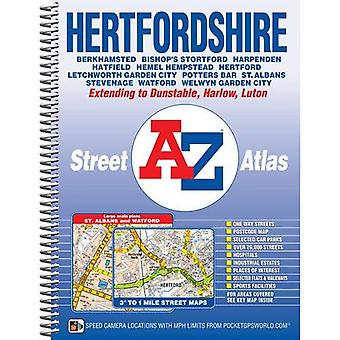 Hertfordshire Street Atlas (A-Z Street Atlas)