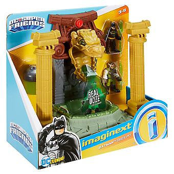 Imaginext Batman Ooze Pit with Ooze Canister and figures