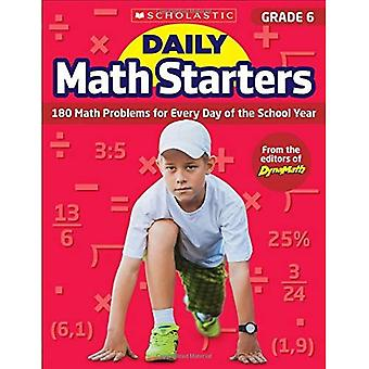 Daily Math Starters: Grade 6: 180 Math Problems for Every Day of the School Year (Daily Math Starters)
