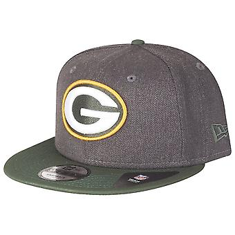 New era 9Fifty Snapback Cap - HEATHER Green Bay Packers