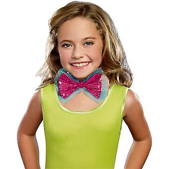 Dance Craze Child Bowtie Pink