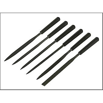 Stanley Tools Needle File Set 6 Piece 150mm 6in