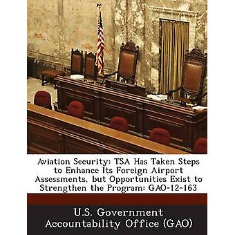 Aviation Security Tsa Has Taken Steps to Enhance Its Foreign Airport Assessments But Opportunities Exist to Strengthen the Program Gao by U. S. Government Accountability Office