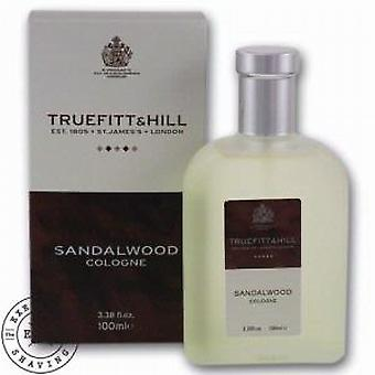 Truefitt en heuvel sandelhout Cologne 100ml