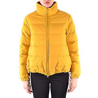 Aspesi Yellow Polyester Down Jacket