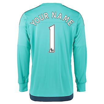 2015-16 Chelsea Goalkeeper Home Shirt (Your Name)