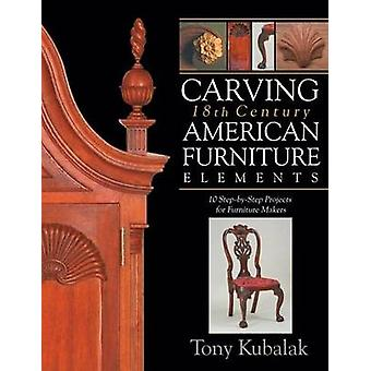 Carving 18th Century American Furniture Elements - 10 Step-By-Step Pro