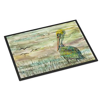 Carolines Treasures  SC2012JMAT Pelican Sunset Indoor or Outdoor Mat 24x36