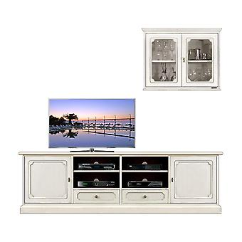 Wandkast TV-basis en kabinet