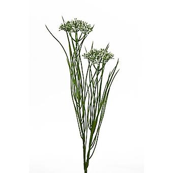 Artificial Queen Anne Lace with Grass Single Stem