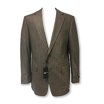 Pal Zileri Lab 2 piece suit in grey subtle stripe